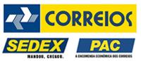 ENTREGA PELO CORREIOS - PAC E SEDEX