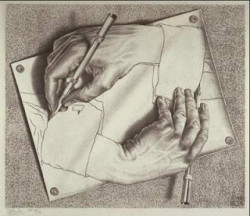 escher-drawinghands